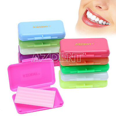 10 Scents AZDental Orthodontic Protective Wax Strawberry/Orange/Apple/Mint/Lemon