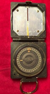 Original British Compass Magnetic Marching Mark 1
