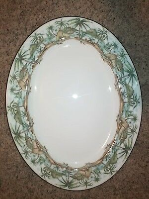 "Lenox BRITISH COLONIAL SCENIC 16"" Oval Serving Platter 3454214"