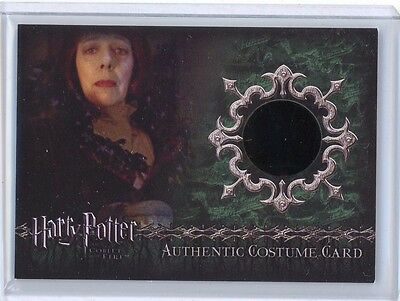 Artbox Harry Potter Goblet of Fire MADAME MAXIME #/825 Costume Relic Card