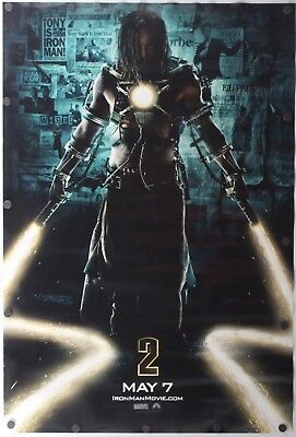 "Iron Man 2 2010 Marvel Double Sided Original Movie Poster 27"" x 40"""