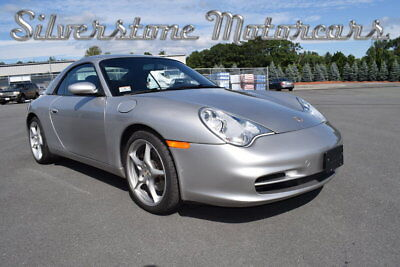 2002 Porsche 911 Carrera  2002 Arctic Silver Metallic Hardtop Cabriolet All Options New Engine