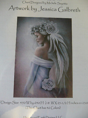 Heaven and Earth Designs Counted Cross Stitch Chart / Pattern - Forgiveness
