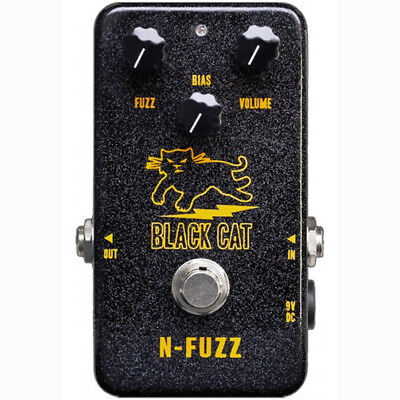 Black Cat Pedals N-Fuzz PDT True Bypass Switch Guitar Effects FX Stompbox Pedal