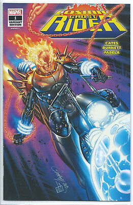 Cosmic Ghost Rider 1 SDCC J Scott Campbell Glow Variant #903 of 1000 In Hand