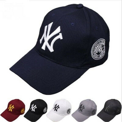 New Mens Womens Baseball Cap Hip-Hop N-Y Hat Adjustable Snapback Sport Unisex