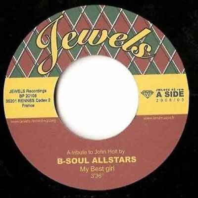 B-Soul Allstars – My Best Girl / The One To Blame  7 (HALLOWEEN SALE 2018)
