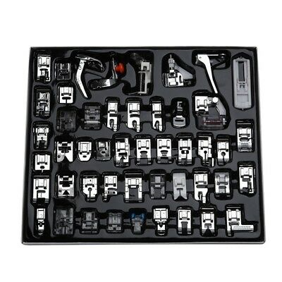 Professional 48pcs Sewing Machine Presser Feet Set for Brother, Babylock, S O5L6