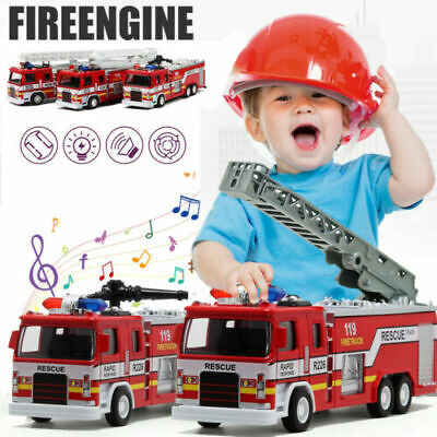Toys For Boys Kids Fire Truck Car 3 4 5 6 7 8 9 Year Age