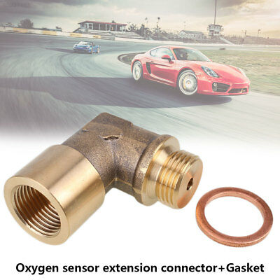 395F Adapter Oxygen Sensor Extender Universal Automobile with Gasket Bung