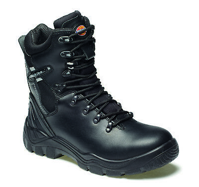 Dickies Quebec Lined Super Safety Work Boots Black (Sizes 4-12) Men's Shoes