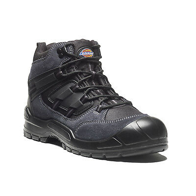 Dickies Everyday Safety Work Boots Grey & Black (Sizes 3-14) Men's Shoes