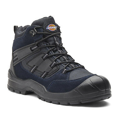 Dickies Everyday Safety Work Boots Navy & Black (Sizes 3-14) Men's Shoes