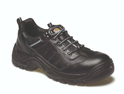 Dickies Super Stockton Safety Work Trainers Black (Sizes 3-14) Men's Shoes