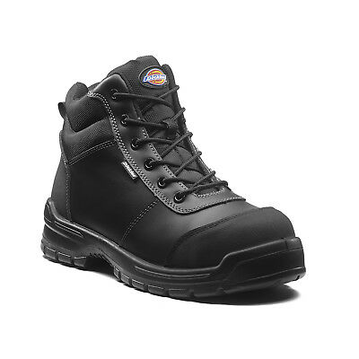 Dickies Andover Safety Work Boots Black (Sizes 3-14) Men's Shoes