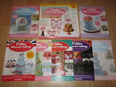 DeAgostini Cake Decorating Magazine Issue No. 1 Plus 7 Specials Good Condition