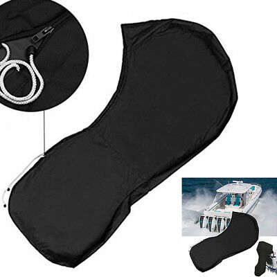 Boat Full Outboard Motor Engine Cover Fit 15-20HP/25-30/40-50/60-90HP/100-150HP