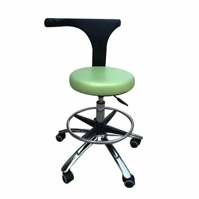 Dental Medical Adjustable Mobile Chair Office Chair Assistant's Stool PU Leather