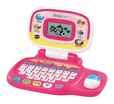 Educational Toys For Girls Learning Baby Laptop 3-6 Year Old Shapes Colors Music