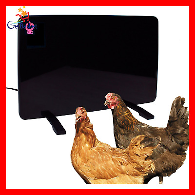 Cozy Products Safe Chicken Coop Pet Heater 200W Flat Panel Technology One Si...