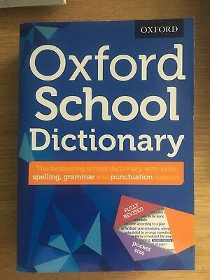 NEW - Oxford School Dictionary (Oxford Dictionary) (PB) 019274710X