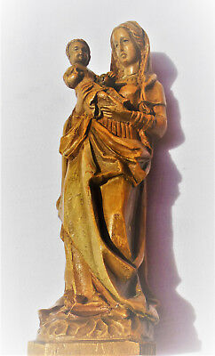 Madonna Hl.Maria Muttergottes mit Kind Sta.Maria Holy Mary