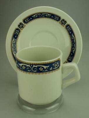The Duraline Hotel Ware Co Ltd Ultraline Duo Cup & Saucer Super Vitrified CS54a