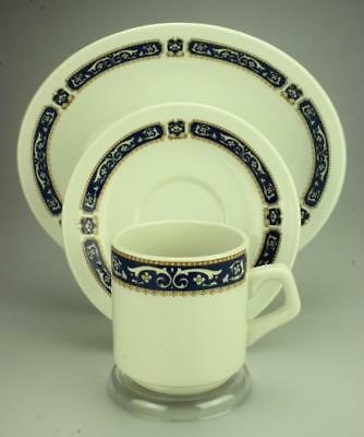 The Duraline Hotel Ware Co Ltd Ultraline Trio Cup Saucer & Plate Vitrified CS54b