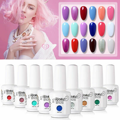 Ukiyo 15ml Soak Off UV LED Gel Polish Base Top Coat Manicure Varnish Lacquer l