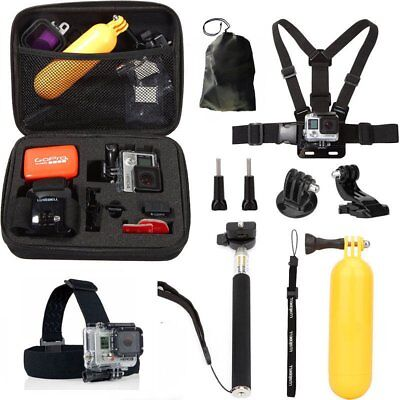 10in1 Gopro Accessories Sports Video Camera Accessories Kit for GoPro Hero 5/4/3