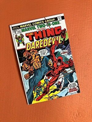 Marvel Two-in-One #3 Marvel Bronze Age Comics Thing and Daredevil 1974