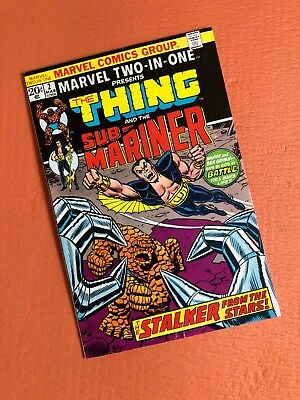Marvel Two-in-One #2 Marvel Bronze Age Comics Thing and Sub-Mariner 1974