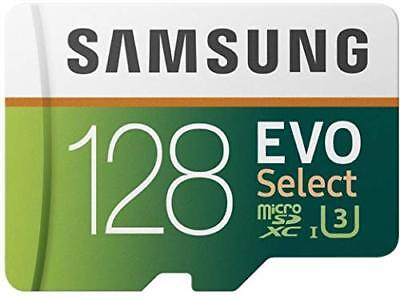 Samsung MB-ME128GAEU 128 GB Evo Select Micro SD Card with Adaptor