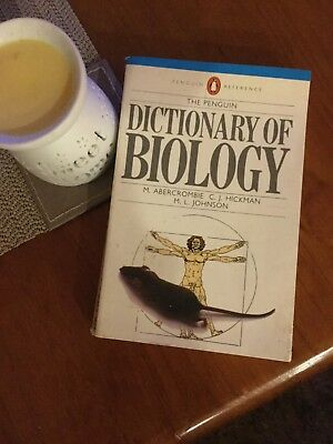 Dictonary Of Biology M.Acercombie, C.J Hickman and M.L Johnson