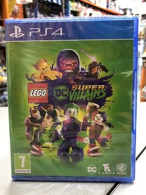 LEGO DC Super Villains Ita PS4 NUOVO SIGILLATO