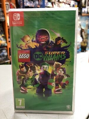LEGO DC Super Villains Ita SWITCH NUOVO SIGILLATO