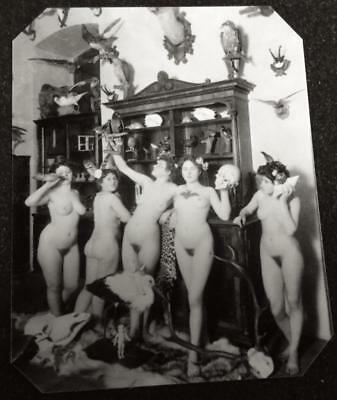 Ladies Of The House Of Ill Repute 9  tintype C1446RP