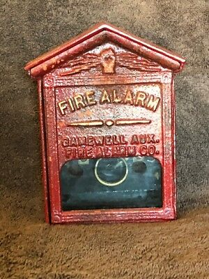 Gamewell Fire Alarm Company, Late'1800's, early 1900's Auxiliary Fire Alarm