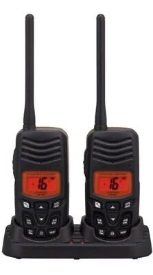 Standard Horizon HX100 Submersible Floating Handheld Marine VHF Radio -Twin Pack
