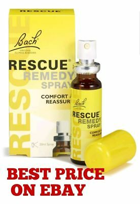 Bach Rescue Remedy Spray 20ml Best Price Expiry date April 2021