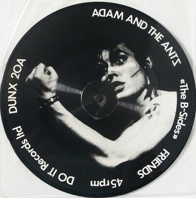 """Adam And The Ants - The B-Sides (Friends)/ Picture Disc Single 7"""" UK 82 unplayed"""