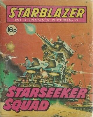 Starseeker Squad,no.59,starblazer Space Fiction Adventure In Pictures,comic