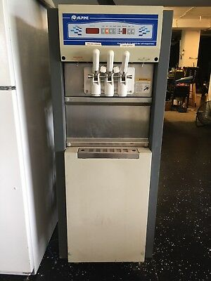 Alpine Yogurt, soft serve ice cream machine.