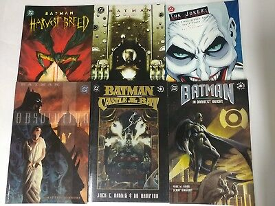 Batman Graphic Novel lot of 23 batman beyond chronicles and more VF+ Bagged