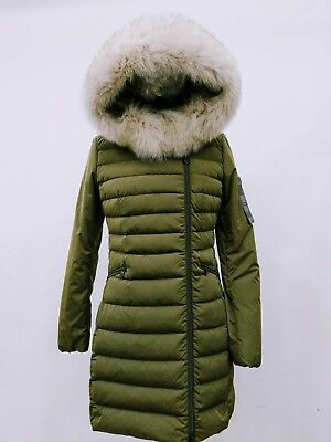 Nwt Peuterey Seriola Slim-Fit Down Jacket With Fur Collar S 6 Us 42 It Ped2609