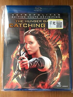 """BLU-RAY """"Hunger Games 2 L'embrasement"""" NEUF SOUS CELL"""