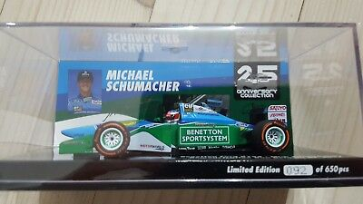 M.Schumacher Edition 43 Nr.8 Mick Schumacher Benetton B194 in 1:43 OVP **RAR**
