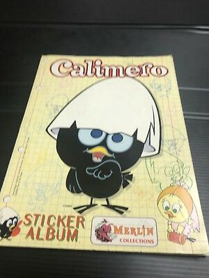 FIGURINA STICKER CARD CALIMERO MERLIN COLLECTIONS 1996 NUOVE NEW ENTRA E SCEGLI