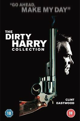 Dirty Harry Collection Clint Eastwood 5 Dvd Box Audio Italian English
