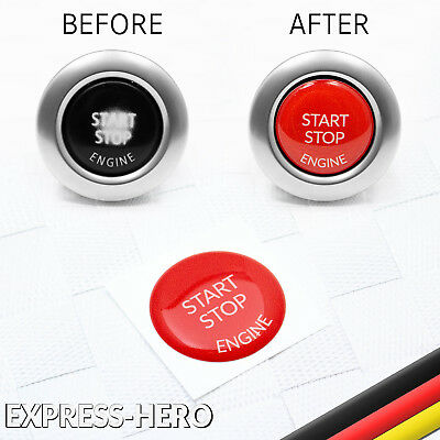 BMW Engine Start Stop Button repair replac Sticker decal E90 E91 E60 E84 E70 2